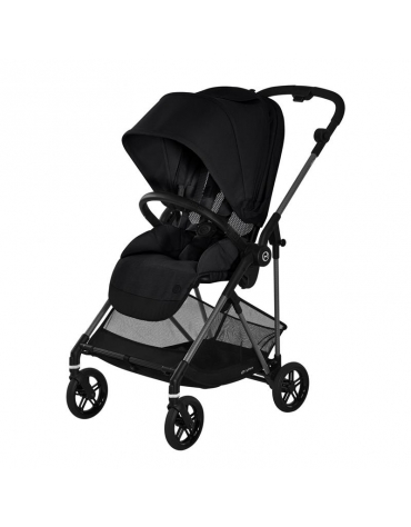 cybex melio carbon wózek spacerowy deep black