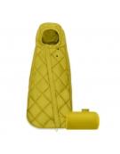 cybex snogga śpiworek uniwersalny mustard yellow